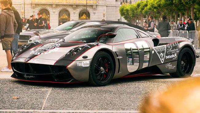 Dünyanın En Lüks Otomobilleri Tek Yarışta - Gumball 3000 - 10