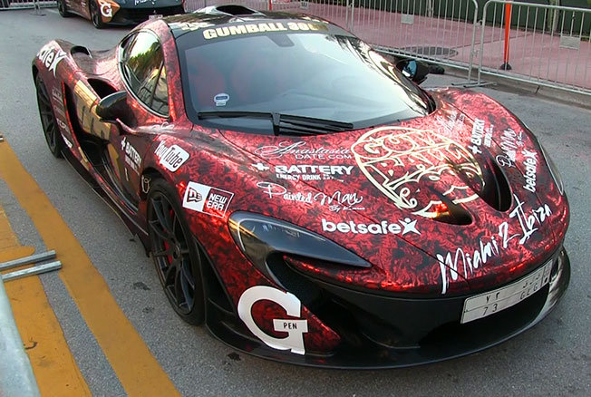 Dünyanın En Lüks Otomobilleri Tek Yarışta - Gumball 3000 - 13