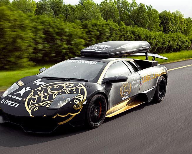 Dünyanın En Lüks Otomobilleri Tek Yarışta - Gumball 3000 - 2