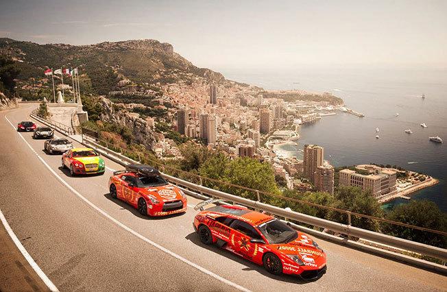 Dünyanın En Lüks Otomobilleri Tek Yarışta - Gumball 3000 - 9