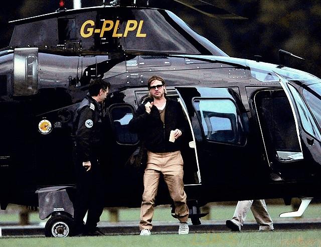 Brad Pitt'in Helikopteri