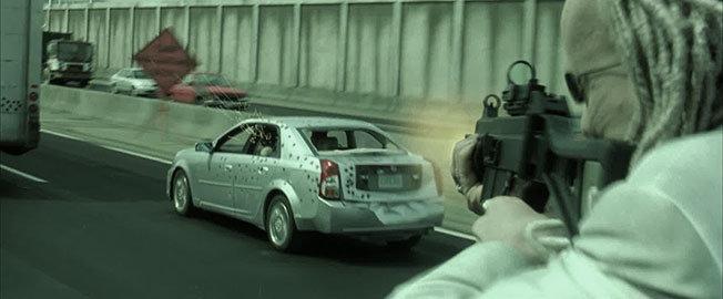 Filmlerde Parçalanan Lüks Araçlar - Cadillac CTS