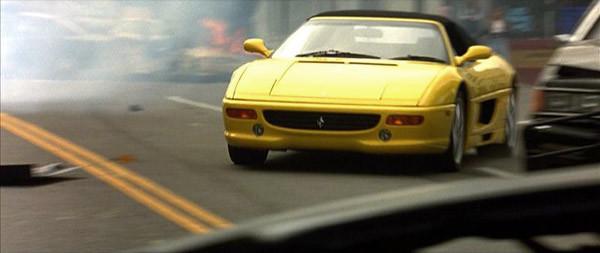 Filmlerde Parçalanan Lüks Araçlar - Ferrari F355