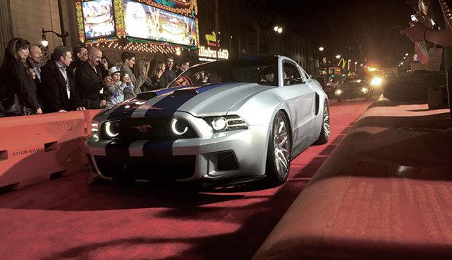 Filmlerde Parçalanan Lüks Araçlar - Ford Mustang Shelby