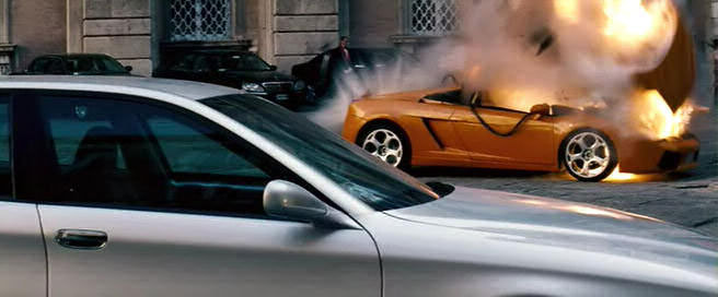 Filmlerde Parçalanan Lüks Araçlar -- Lamborghini Gallardo