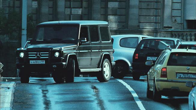 Filmlerde Parçalanan Lüks Araçlar - Mercedes G Serisi