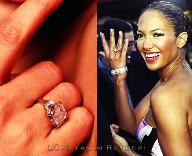 Jennifer Lopez Tek Taş Yüzüğü