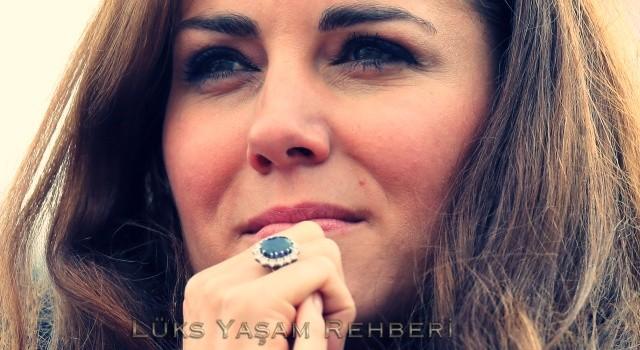 Kate Middleton Tek Taş Yüzüğü