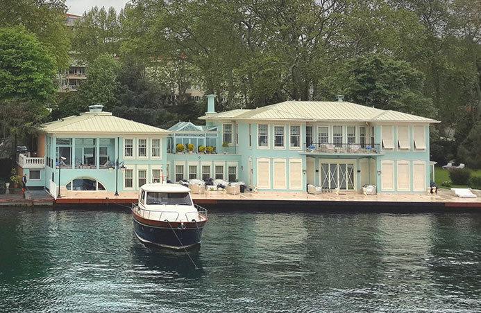 İstanbul'un En Pahalı Yalıları -Tahsin Bey Yalısı
