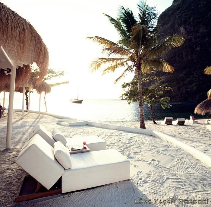 Sugar Beach, Santa Lucia