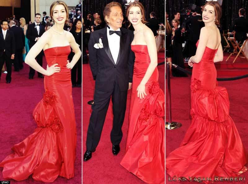 Anne Hathaway Oscar Töreni