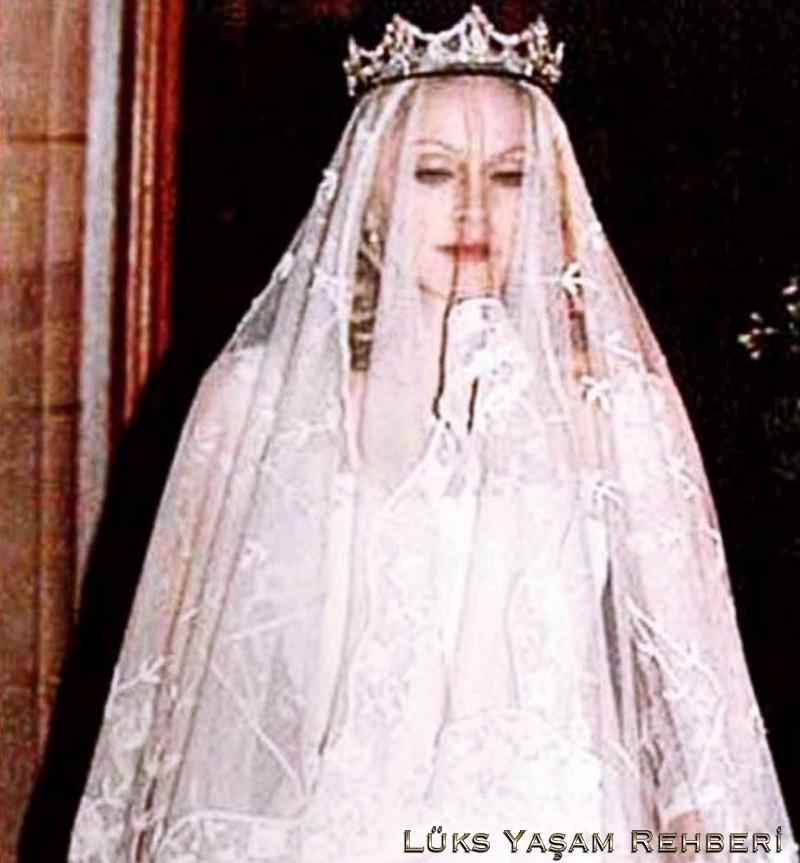 Madonna'nın Gelinliği