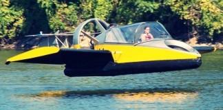 "Uçabilen ""Hovercraft"""