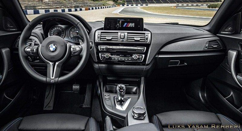 2016 BMW M2 İç Tasarım