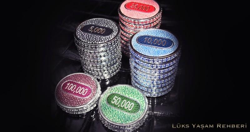 Altın Poker Fişi