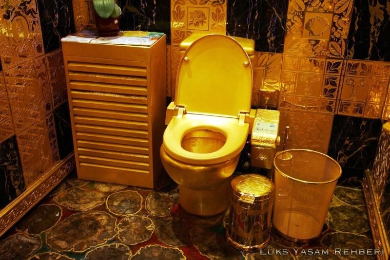 Altın Tuvalet ve Tuvalet Kağıdı