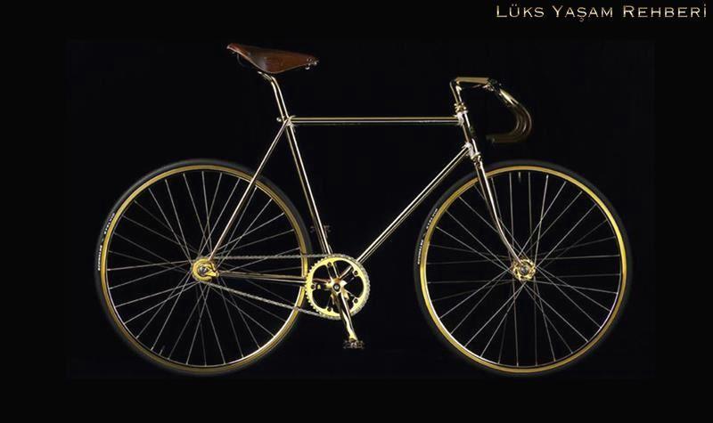 Aurumania Altın Kaplama Bisiklet