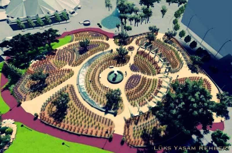 Prenses Grace Botanik Bahçesi - 1