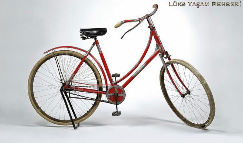 Tiffany Co. Gümüş Kadın Bisikleti