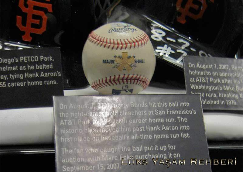 Barry Bonds' 715th Home Run Topu