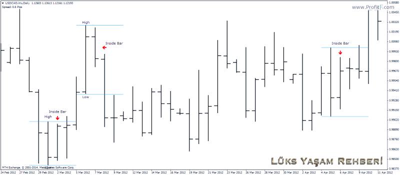 Forex Bar Grafiği