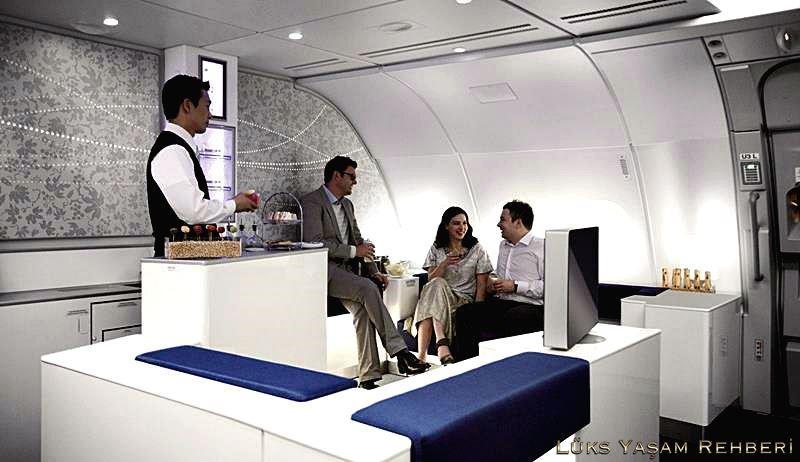 Korean Air A380 Bar