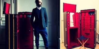 Louis Vuitton Michael Clarke Büyük Bavul