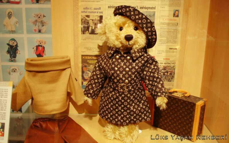 Louis Vuitton Steiff Oyuncak Ayı