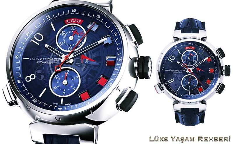 Louis Vuitton Tambour Spin Time Regatta Saat
