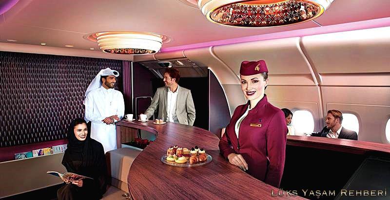 Qatar First Class Lounge