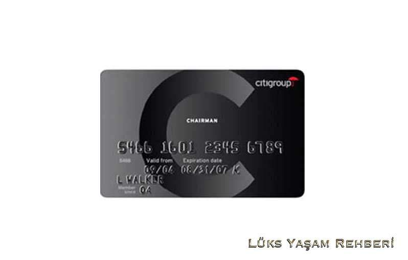 Black Chairman Card