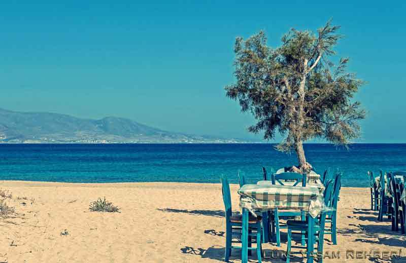 Place Beach / Naxos