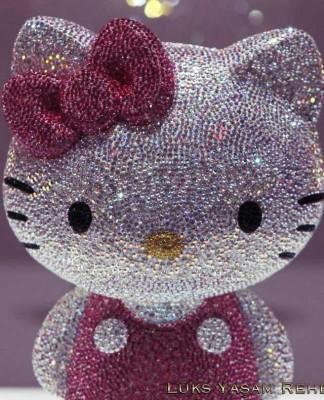 Swarovski Taşlı Hello Kitty