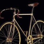 Altın ve Swarovski Taşlı Bisiklet
