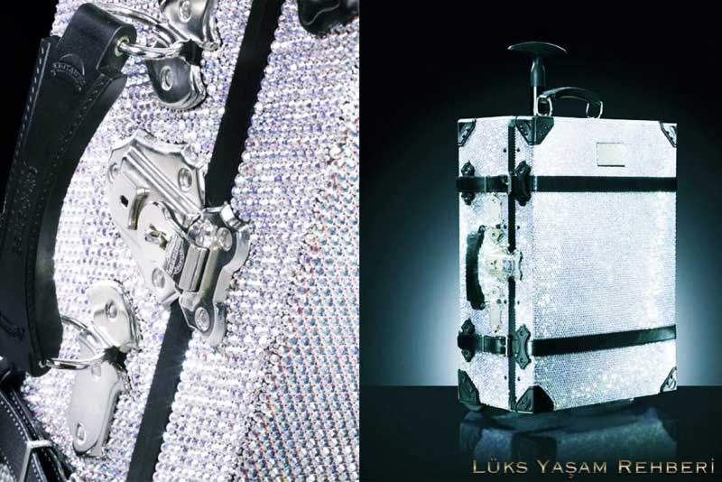 Samsonite Black Label Swarovski Taşlı Bavul